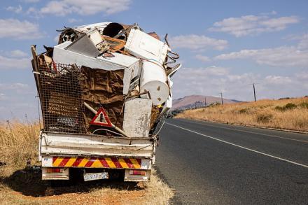 debris removal companies trucks