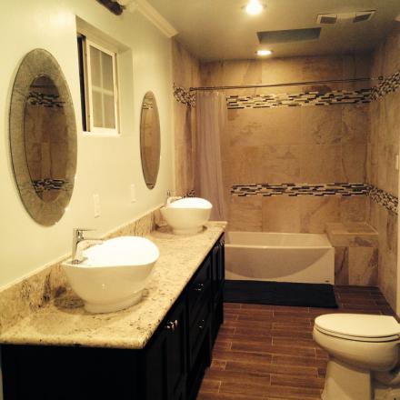 Home cleaning tips - clean bathrooms first