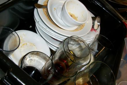 Home Cleaning Tip - Don't procrastinate in doing the dishes