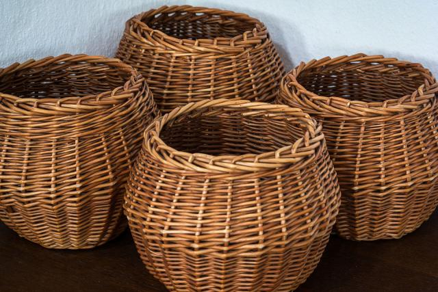 Use baskets for better home organization