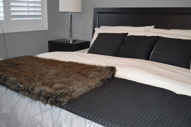 Making your bed when you wake up can reduce stress