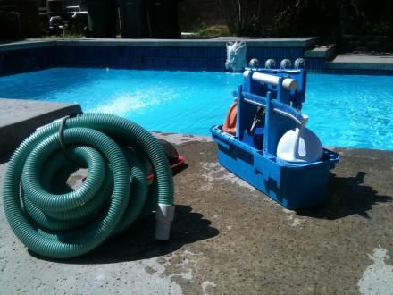 Pool Service Equipment