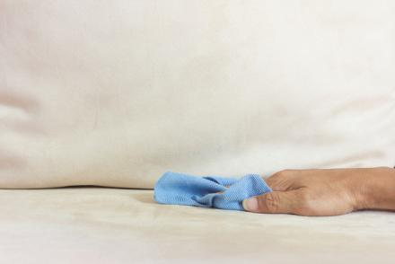 remove stains from microfiber home cleaning