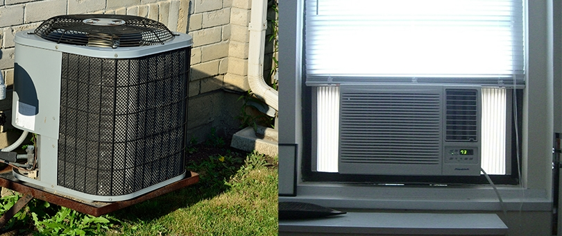 Window Air Conditioners Vs Central Air Conditioners