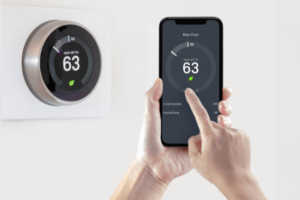 Use smart thermostat