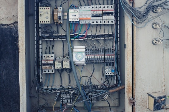 open slots in electrical panel